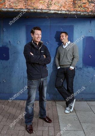 Film director and former actor Nick Moran and writer Kevin Lewis