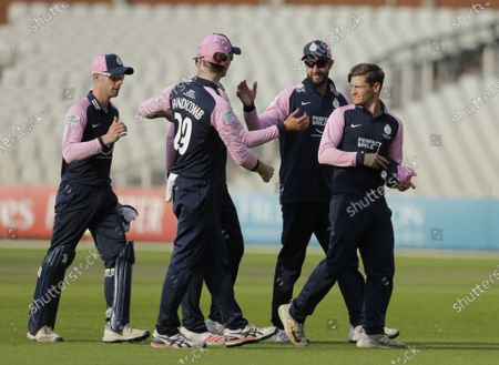 Editorial image of Lancashire v Middlesex, Royal London One-Day Cup, Cricket, Emirates Old Trafford, Manchester, UK - 03 Aug 2021