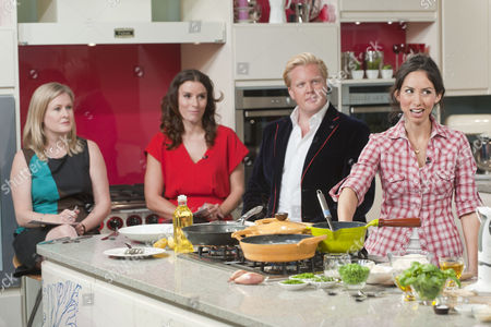 Borra Garson, Tana Ramsay, Olly Smith and Caroline Mi Li Artiss