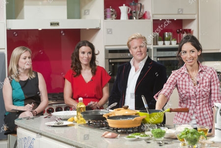 Stock Image of Borra Garson, Tana Ramsay, Olly Smith and Caroline Mi Li Artiss