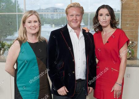Borra Garson, Olly Smith and Tana Ramsay