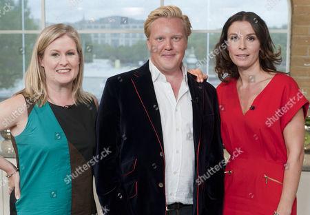 Borra Garson, Olly Smith and Tana Ramsay,