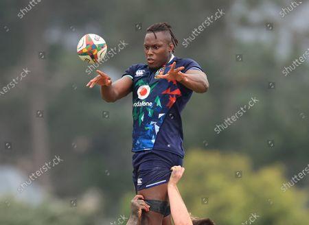 British & Irish Lions Squad Training, South Africa 3/8/2021. Maro Itoje