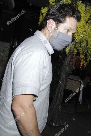 Paul Rudd is seen leaving Scott's