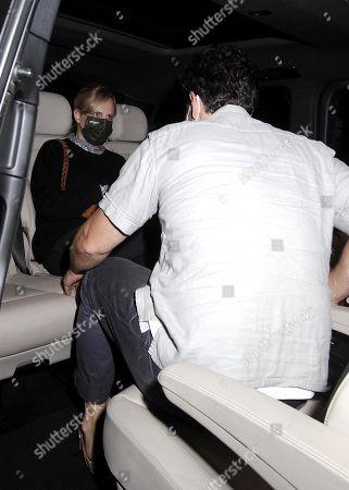 Paul Rudd is seen leaving Scott's with his wife Julie Yaeger