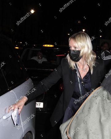 Julia Carey is seen leaving Scott's