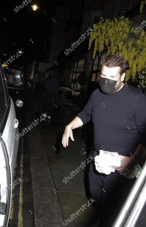 Editorial photo of Paul Rudd, James Corden and families out and about, London, UK - 02 Aug 2021