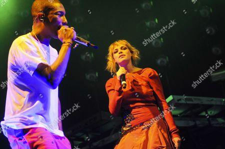 Pharrell Williams and Uffie