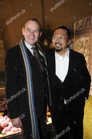 Jean-Jacques Aillagon and Takashi Murakami