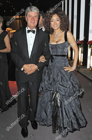 Yves Carcelle, President of Louis Vuitton and Actress Gong Li