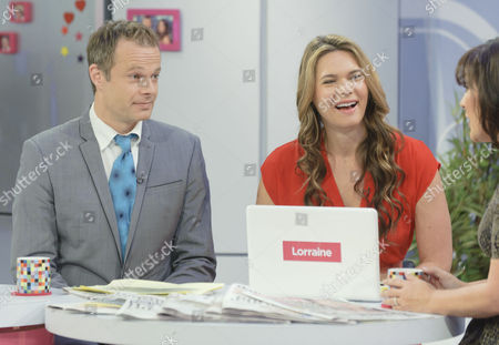 Editorial image of 'Lorraine Live' TV Programme, London, Britain. - 14 Sep 2010
