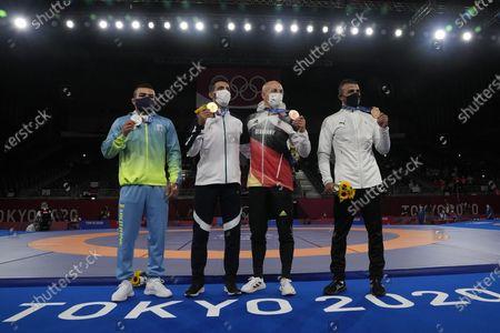 Editorial image of Tokyo Olympics Wrestling, Chiba, Japan - 04 Aug 2021