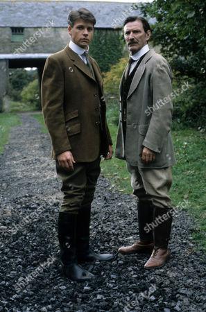 Lloyd Owen as Charlie MacFell and Tom Bell as Edward MacFell