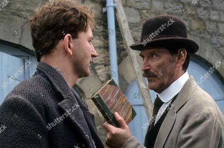 Antony Byrne as Ginger Slater and Tom Bell as Edward MacFell