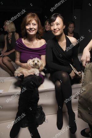 Susan Sarandon and Vivian Wu