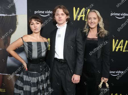 "Mercedes Kilmer, Jack Kilmer, and Head of Amazon Studios Jennifer Salke attend Amazon Studios ""Val"" Premiere"