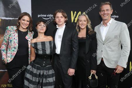 "Co-Head of Movies at Amazon Studios Julie Rapaport, Mercedes Kilmer, Jack Kilmer, Head of Amazon Studios Jennifer Salke, and Co-Head of Movies at Amazon Studios Matt Newman attend Amazon Studios ""Val"" Premiere"