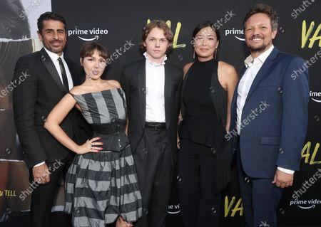 "Producer Ali Alborzi, Mercedes Kilmer, Jack Kilmer, Director/Editor Ting Poo, and Director/Editor Leo Scott attend Amazon Studios ""Val"" Premiere"