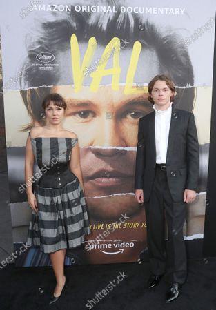 "Mercedes Kilmer and Jack Kilmer attend Amazon Studios ""Val"" Premiere"