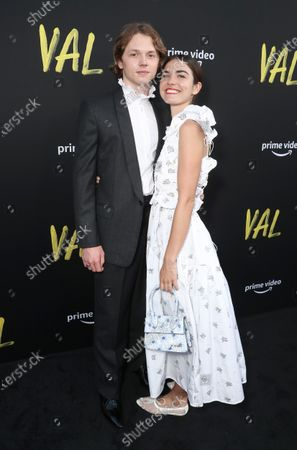 """Jack Kilmer and Talulah Brown attend Amazon Studios """"Val"""" Premiere"""