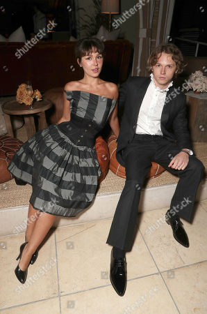 """Stock Image of Mercedes Kilmer and Jack Kilmer attend the afterparty for Amazon Studios """"Val"""" Premiere"""