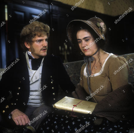 Edward Rawle-Hicks as Clive Fischel and Tracy Whitwell as Cissie Brodie