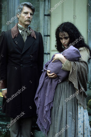 James Fox as Lord Fischel and Tracy Whitwell as Cissie Brodie with her child