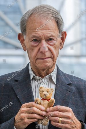 John Hajdu MBE (with the Teddy Bear he had with him throughout that time until today), a Holocaust survivor - Generations: Portraits of Holocaust Survivors a new exhibition at IWM London. Running 6 August 2021 - 7 January 2022 it is a new photography exhibition at IWM London that brings together over 50 contemporary portraits of Holocaust survivors and their families.