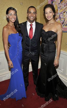 Kaiane Aldorino (Miss World 2009), Kamal Ibrahim (Mister World 2010) and Azra Ak?n (Miss World 2002)
