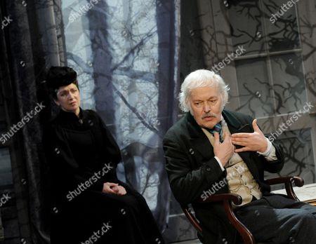 'The Master Builder' - Michael Pennington (Halvard) and Maureen Beattie (Aline)