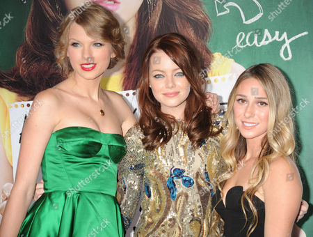 Emma Stone, Taylor Swift and Ashley Avignone