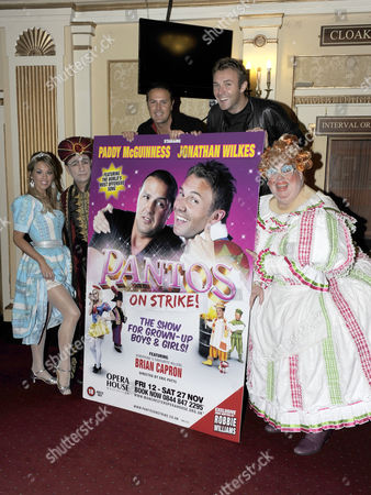 Jonathan Wilkes, Brian Capron, Paddy McGuinness, Suzanne Carley and Eric Potts