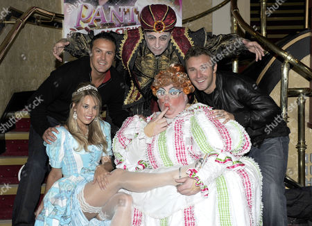 Jonathan Wilkes, Brian Capron, Paddy McGuinness and  Suzanne Carley and Eric Potts