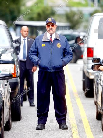 Editorial photo of 'Blue Bloods' TV show on set filming, New York, USA - 04 Aug 2021