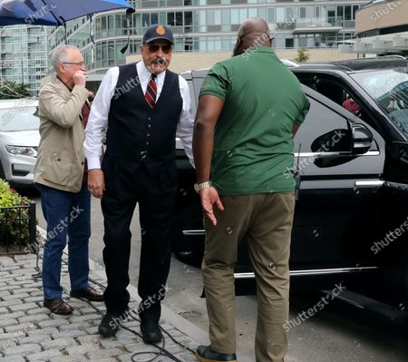 Editorial image of 'Blue Bloods' TV show on set filming, New York, USA - 04 Aug 2021