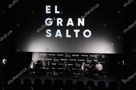 Stock Image of Ramon Ramirez, Marco Damian Garcia, Jorge Porras Gamboa, Francisco del Valle, Jorge Rivera