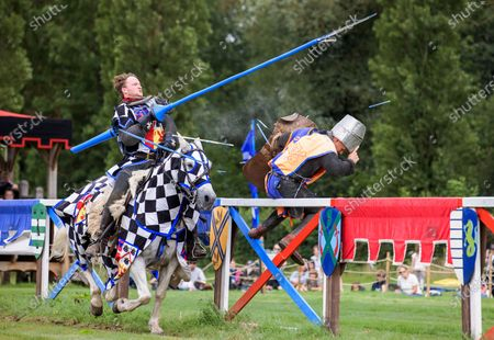 Editorial picture of Hever Castle Jousting, Kent, UK - 31 Jul 2021