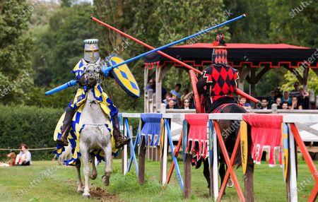 Editorial image of Hever Castle Jousting, Kent, UK - 31 Jul 2021