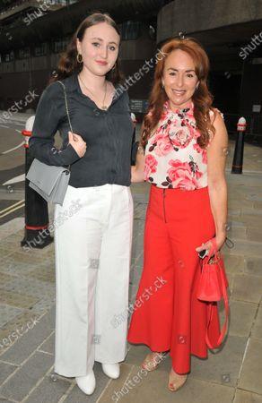 Samantha Spiro and her daughter