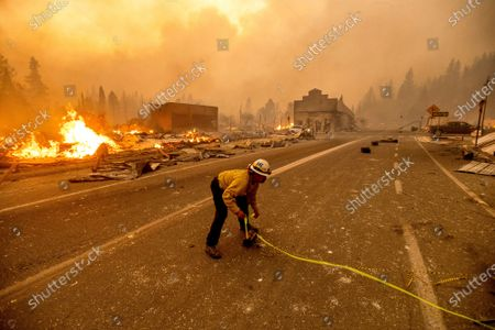 Editorial image of California Wildfires, Unincorporated Plumas County, United States - 04 Aug 2021