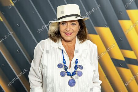 Francoise Fabian poses during a photocall for the movie 'Rose' at the 74th Locarno International Film Festival, in Locarno, Switzerland, 05 August 2021. The Festival del film Locarno runs from 04 to 14 August 2021.