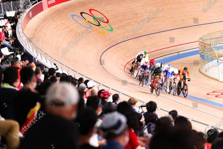 Editorial photo of Tokyo Olympic Games 2020 - Track Cycling, Shizuoka, Japan - 05 Aug 2021