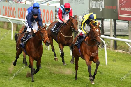 BIG BOY BOBBY (right) ridden by Oisin Murphy beating Fascinating Shadow & Summer Valley (centre) in The Woodcote Flying Club BBQ Handicap Stakes at Brighton Copyright: Ian Headington/racingfotos.com
