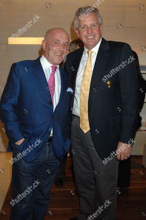 Stock Photo of Louis Copeland and Colin Montgomerie