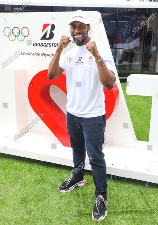 Stock Picture of Team GB Taekwondo athlete Lutalo Muhammad poses for photos as Bridgestone UK Celebrates the Olympic Games Tokyo 2020