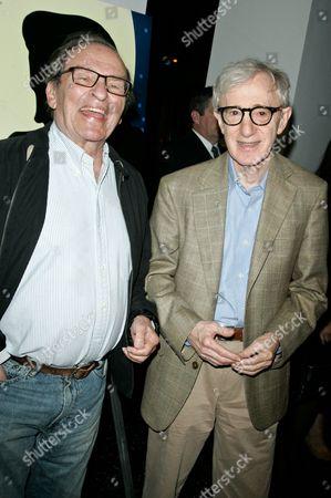 Stock Image of Sidney Lumet and Woody Allen