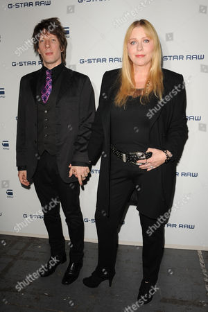 Stock Photo of Jim Wallerstein and Bebe Buell