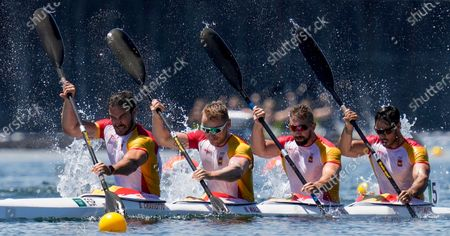 Editorial picture of Olympics Canoe Sprint, Tokyo, Japan - 06 Aug 2021