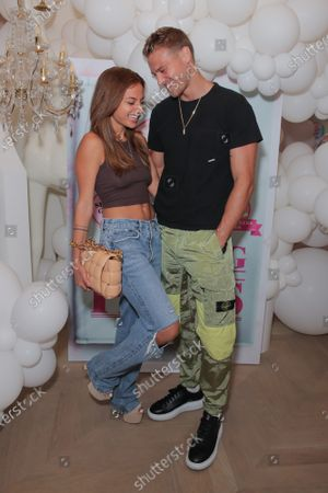 Stock Picture of Inanna Sarkis and Matthew Noszka attend a 'Cooking with Paris' Special Screening Event to Celebrate Paris Hilton's New Netflix Show