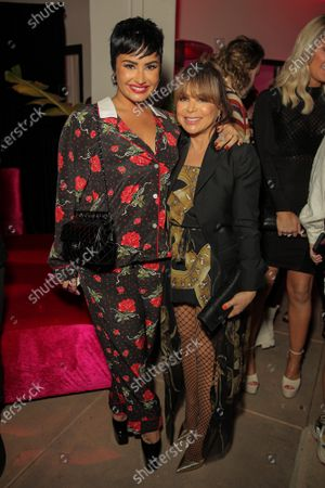 Demi Lovato and Paula Abdul attend a 'Cooking with Paris' Special Screening Event to Celebrate Paris Hilton's New Netflix Show